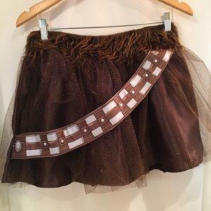 Star Wars Chewbacca running skirt.